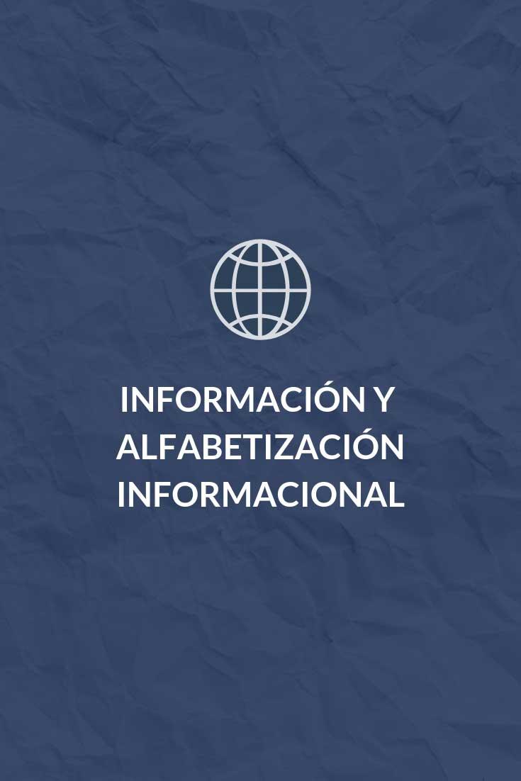información y alfabetización informal